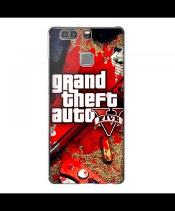 Grand Theft Auto V - Huawei P10 Lite Carcasa Transparenta Silicon