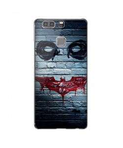 Batman/The Joker - Huawei P9 Carcasa Transparenta Silicon