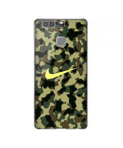 Camo Nike - Huawei P9 Plus Carcasa Transparenta Silicon