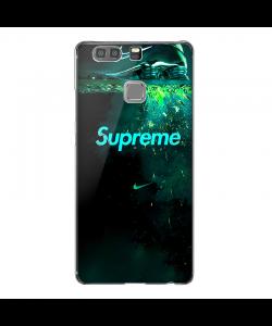 Supreme x NIke - Huawei P9 Plus Carcasa Transparenta Silicon