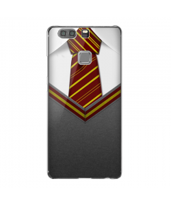 Harry Potter Tie - Huawei P9 Carcasa Transparenta Silicon