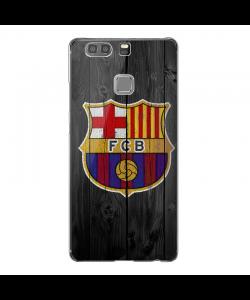 FC Barcelona - Huawei P9 Plus Carcasa Transparenta Silicon