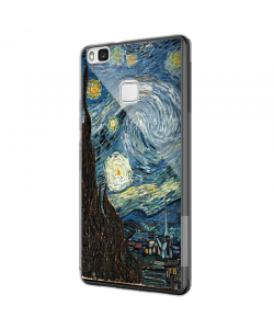 Van Gogh - Starry Night - Huawei P9 Lite Carcasa Silicon