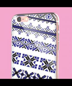 Ie Albastra - iPhone 6 Carcasa Transparenta Silicon