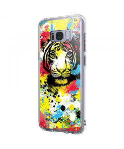 In the Jungle - Samsung Galaxy S8 Plus Carcasa Premium Silicon