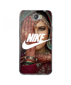 Indian Nike - Huawei Y5 II Carcasa Transparenta Silicon