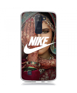 Indian Nike - LG K8 Carcasa Transparenta Silicon