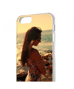 Personalizare - iPhone 5/5S/SE Carcasa Transparenta Silicon