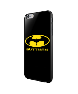 Buttman - iPhone 6/6S Carcasa Neagra TPU