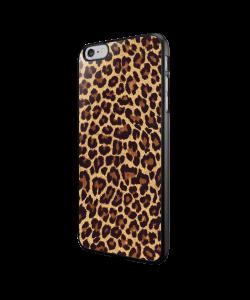 Leopard Print - iPhone 6/6S Carcasa Neagra TPU
