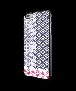 Quatrefoil - iPhone 6/6S Carcasa Neagra TPU