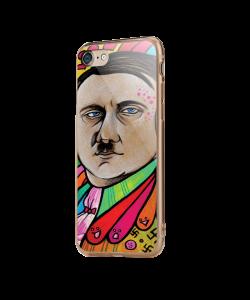 Hitler Meets Colors - iPhone 7 / iPhone 8 Carcasa Transparenta Silicon