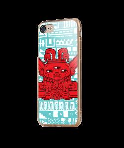Red God - iPhone 7 / iPhone 8 Carcasa Transparenta Silicon