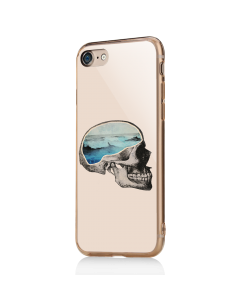 Waves in Your Head - iPhone 7 / iPhone 8 Carcasa Transparenta Silicon