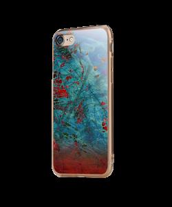 Metallic Scratch - iPhone 7 / iPhone 8 Carcasa Transparenta Silicon
