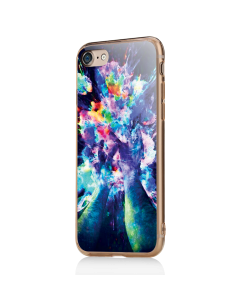 Explosive Thoughts - iPhone 7 / iPhone 8 Carcasa Transparenta Silicon