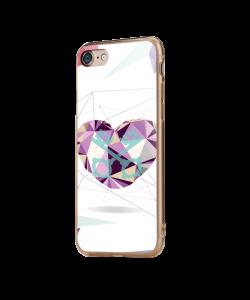 Love Keys - iPhone 7 / iPhone 8 Carcasa Transparenta Silicon