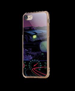 Night Ride - iPhone 7 / iPhone 8 Carcasa Transparenta Silicon