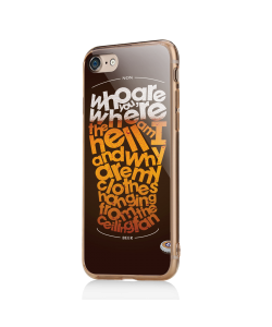 Beer State of Mind - iPhone 7 / iPhone 8 Carcasa Transparenta Silicon