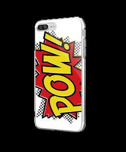 Pow - iPhone 7 Plus / iPhone 8 Plus Carcasa Transparenta Silicon