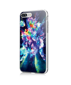 Explosive Thoughts - iPhone 7 Plus / iPhone 8 Plus Carcasa Transparenta Silicon