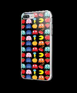 Craziness - iPhone 7 Plus / iPhone 8 Plus Carcasa Transparenta Silicon