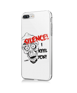 Silence I Keel You - iPhone 7 Plus / iPhone 8 Plus Carcasa Transparenta Silicon