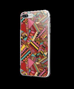 African Release - iPhone 7 Plus / iPhone 8 Plus Carcasa Transparenta Silicon