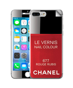 Chanel Rouge Rubis Nail Polish - iPhone 7 Plus Skin