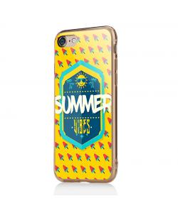 Summer Vibes - iPhone 7 / iPhone 8 Carcasa Transparenta Silicon
