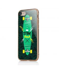 Stay Fresh - iPhone 7 / iPhone 8 Carcasa Transparenta Silicon