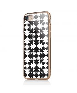 Black or White - iPhone 7 / iPhone 8 Carcasa Transparenta Silicon