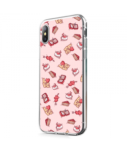 Valentine Goodies - iPhone X Carcasa Transparenta Silicon