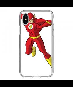 Flash Icon - iPhone X Carcasa Transparenta Silicon