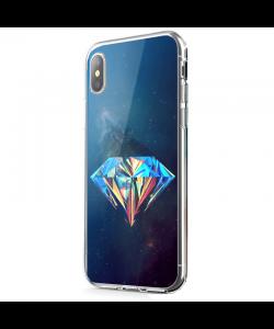 Acid Diamond - iPhone X Carcasa Transparenta Silicon