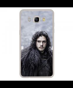 Jon Snow - Samsung Galaxy J7 2017 Carcasa Transparenta Silicon