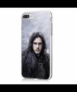 Jon Snow - iPhone 7 Plus / iPhone 8 Plus Carcasa Transparenta Silicon