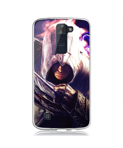 Assasin's Creed Altair - LG K8 2017 Carcasa Transparenta Silicon
