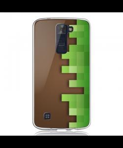 Minecraft - LG K8 2017 Carcasa Transparenta Silicon