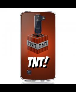 TNT! - LG K8 Carcasa Transparenta Silicon