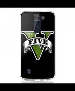 GTA V - LG K8 Carcasa Transparenta Silicon