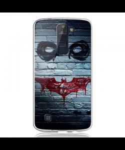Batman/The Joker - LG K8 2017 Carcasa Transparenta Silicon