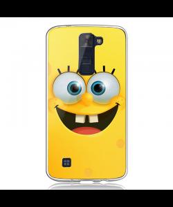Spongebob - LG K8 2017 Carcasa Transparenta Silicon