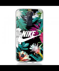 Dope Nike - LG K8 2017 Carcasa Transparenta Silicon