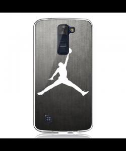 White Jordan - LG K8 Carcasa Transparenta Silicon