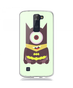 Minion Batman - LG K8 2017 Carcasa Transparenta Silicon