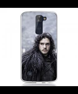 GoT Jon Snow - LG K8 2017 Carcasa Transparenta Silicon