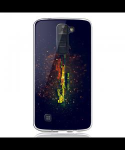 CS Go 2 - LG K8 2017 Carcasa Transparenta Silicon