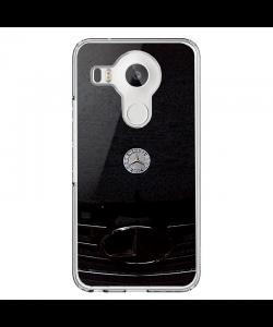 Mercedes Benz - LG Nexus 5X Carcasa Transparenta Silicon