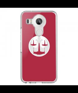 Star Wars Rebellion - LG Nexus 5X Carcasa Transparenta Silicon